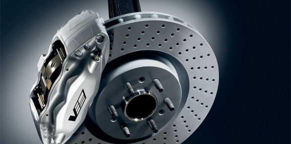 Cadillac CTS-V Cross-Drilled Brakes. X06SP_CA001