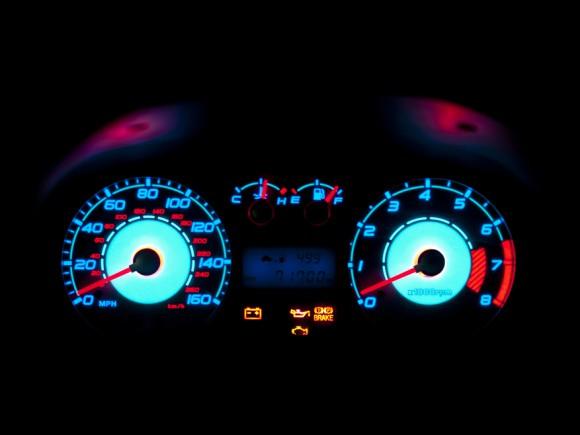 brake service light